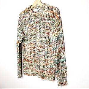ARITZIA Wilfred Free Multicolour Knit Wool Sweater